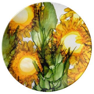 Brass Art Plate