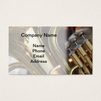 Brass Band Detail Business Card