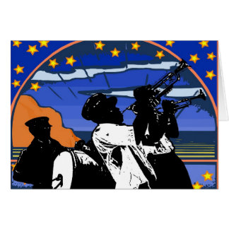 Brass Band Stars Card