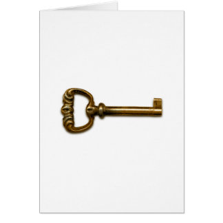 Brass Key Card