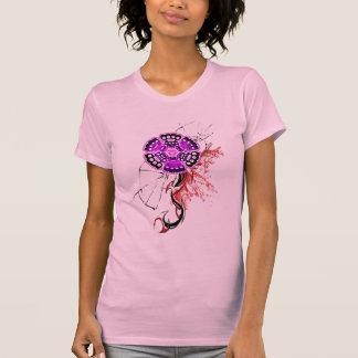brass knuckle flower tee shirts