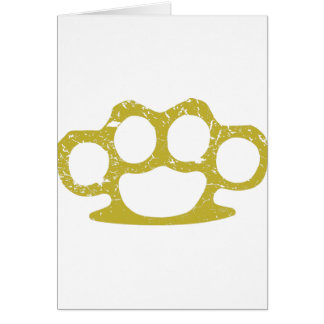 Brass Knuckles Card