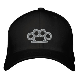 Brass Knuckles Embroidered Baseball Caps