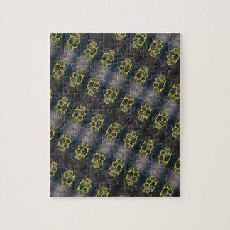 Brass Knuckles Pattern Jigsaw Puzzle
