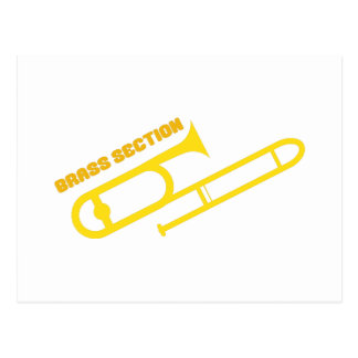 Brass Section Postcard