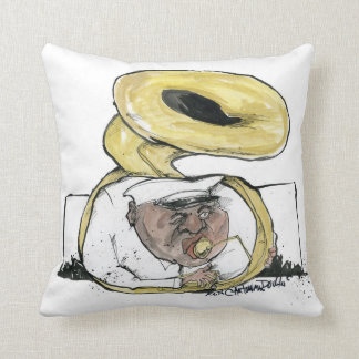 brassman from new orleans cushion