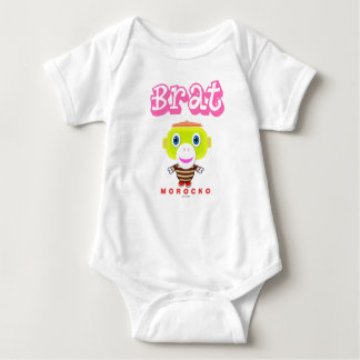 Brat-Cute Monkey-Morocko Baby Bodysuit