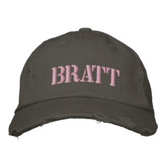 Brat Embroidered Hat