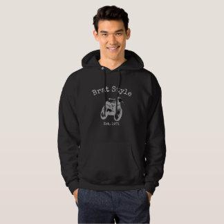 """""""Brat Style"""" men's vintage motorcycle hoodie"""