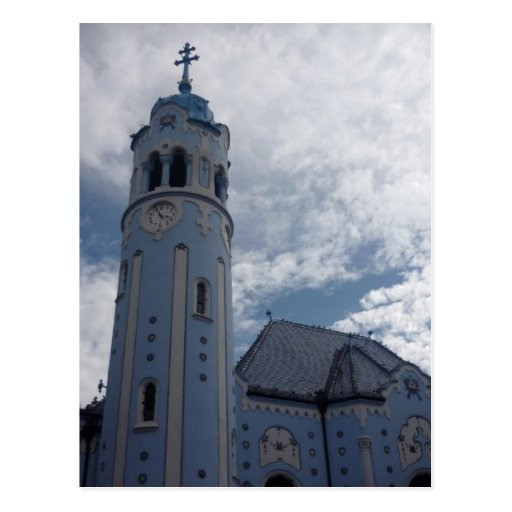 bratislava blue tower post cards