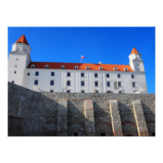 Bratislava castle custom invitation