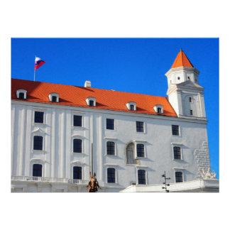 Bratislava castle invite