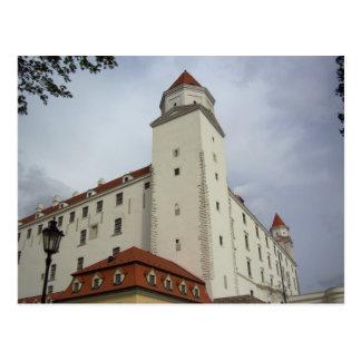 Bratislava Castle Postcard