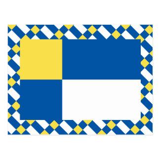 Bratislava Flag Postcard