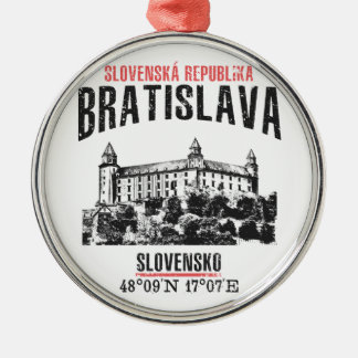 Bratislava Metal Ornament