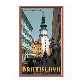 Bratislava - Michael's Tower Postcard