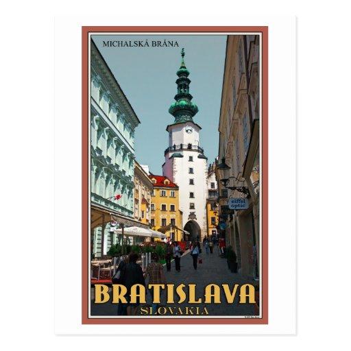 Bratislava - Michael's Tower Postcards