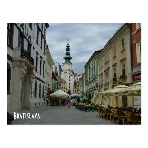 Bratislava Postcards