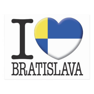 Bratislava Post Card