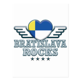 Bratislava Rocks v2 Postcard