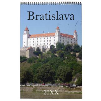 bratislava slovakia calendars