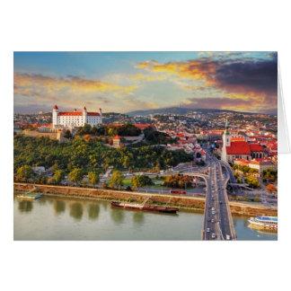 Bratislava, Slovakia Card