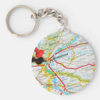 Bratislava, Slovakia Key Ring