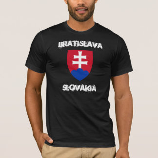 Bratislava, Slovakia with coat of arms T-Shirt
