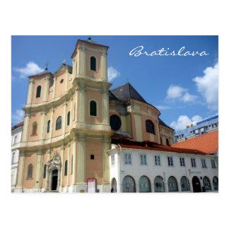 bratislava trinitarian postcard