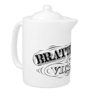 Brattleboro and Vicinity Tea Pot