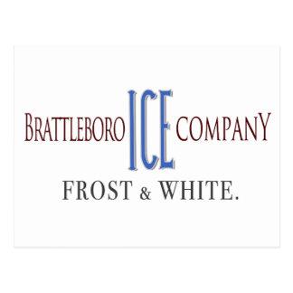 Brattleboro Ice Company Postcard