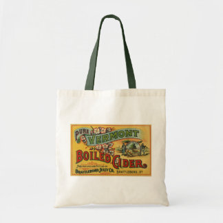 Brattleboro Jelly Boiled Cider from Vermont Budget Tote Bag