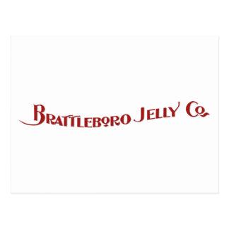 Brattleboro Jelly Company Postcard