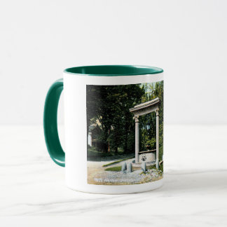 Brattleboro, Vermont, Well's Fountain, Vintage Mug