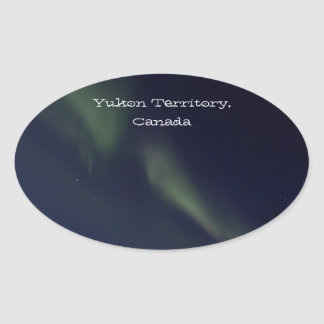 BRAU Broken Aurora Oval Sticker