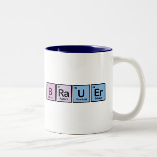 Brauer made of Elements Mug