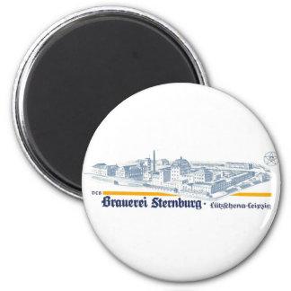 Brauerei Sternburg 6 Cm Round Magnet