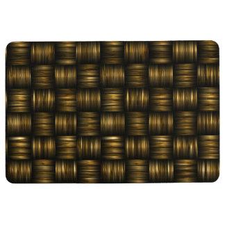 Braun Floor Mat