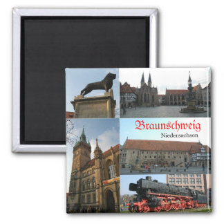 Braunschweig Square Magnet