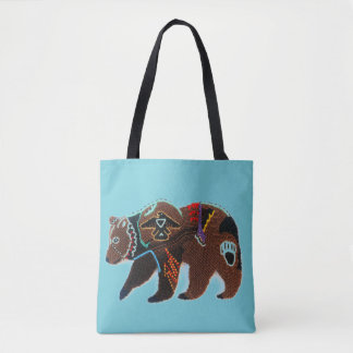 Brave Bear Tote Bag