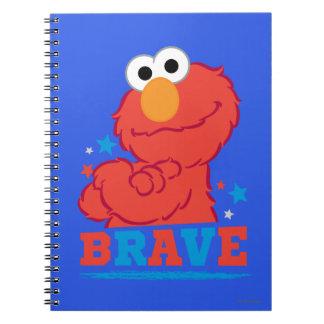 Brave Elmo Notebook