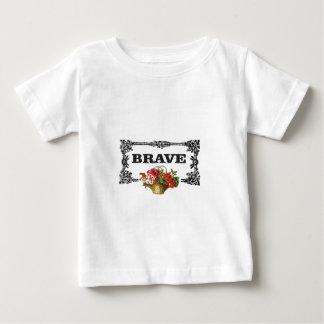 brave flower art baby T-Shirt