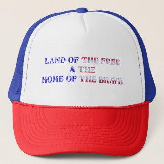 Brave & Free Blue Trucker Hat