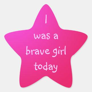 Brave Girl Sticker