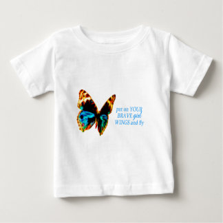 Brave girl wings baby T-Shirt