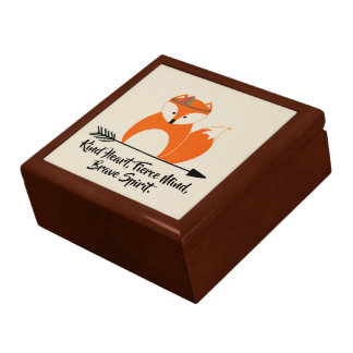 Brave Little Fox Gift Box