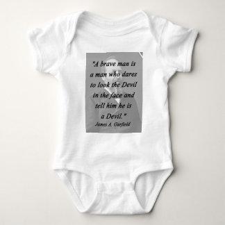 Brave Man - James Garfield Baby Bodysuit