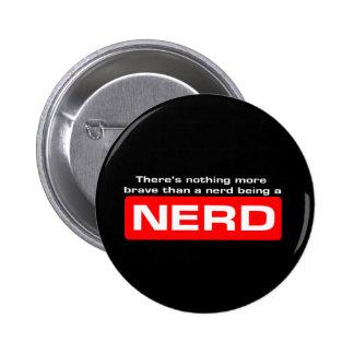 Brave Nerds Button