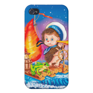 Brave sailor iPhone 4/4S cover