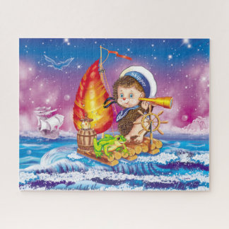 Brave sailor jigsaw puzzle